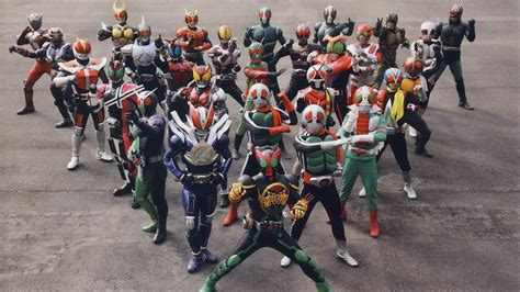 Timeline Kamen Rider