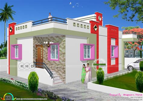 hd exclusive  cost modern house design  india home
