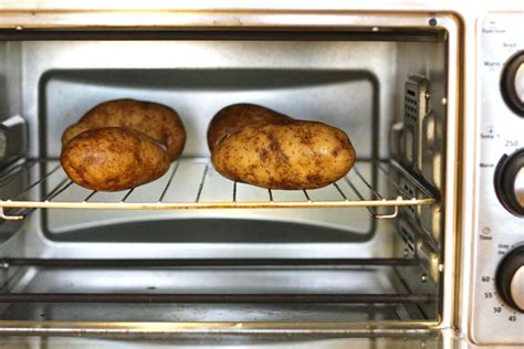 best way to bake a potato the ultimate guide to toaster oven baked potatoes