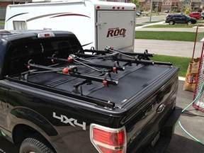 Tonneau Cover Bike Rack F150 Help Bakflip G2 Or Any Folding Cover With Bike Rack