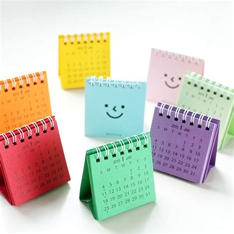 Small Desk Calendars 2015 Mini Desk Calendar Calendar Home Decoration Gift New Year Gift In Calendar From