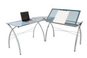 L Shaped Drafting Desk Studio Designs Futura L Shaped Desk With Tilt 50306