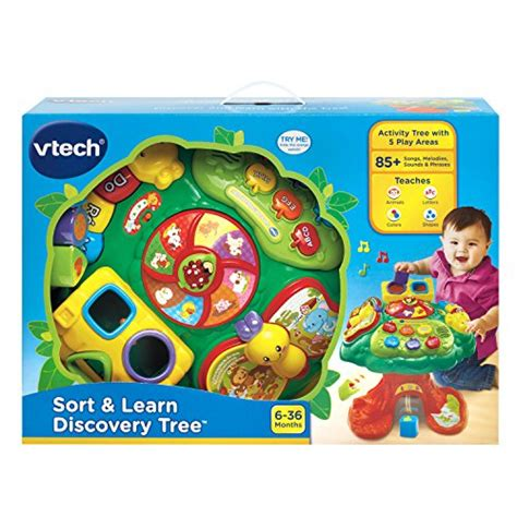 v tech activity table vtech sort and learn discovery tree activity table