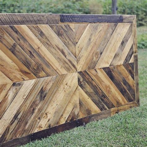 reclaimed wood dining table etsy best 20 herringbone headboard ideas on wood