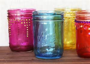 colored jars how to make colored jars diy craft projects