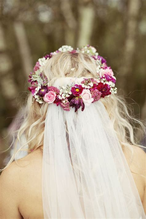 258 best Bridal Flower Crowns images on Pinterest