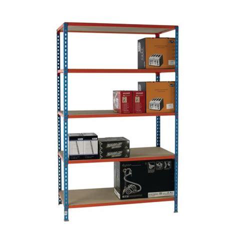 Metal Shelf Standards by Standard Duty Boltless Chipboard Shelving Painted Steel