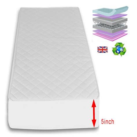 Maxi Cool Mattress Cover by 4baby Classic Cot Bed With Maxi Air Cool Mattress White