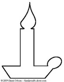 Candle Template by Craft Ideas For Craft Ideas