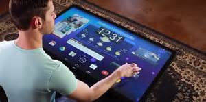 tablet tisch coffee table sized android tablet business insider