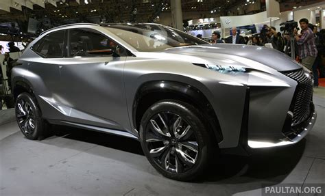 tokyo 2013 lexus lf nx turbo goes the blown route image