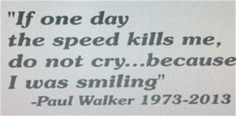 Paul Walker Bike Stickers by Paul Walker Quote Decal Decals Graphics Fast Furious
