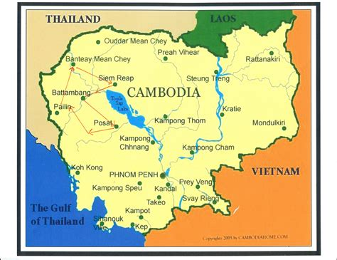 map of cambodia map of cambodia heifer 12 x 12