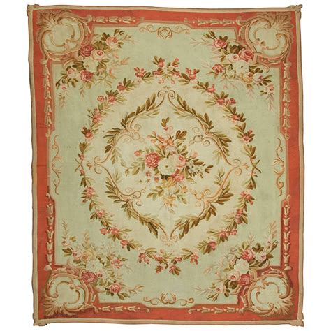 Antique French Aubusson Rug Circa 1890 For Sale At 1stdibs Antique Rugs For Sale