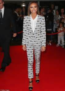 E News Hosts Wardrobe by E News Host Giuliana Rancic Wears Statement Suit As She