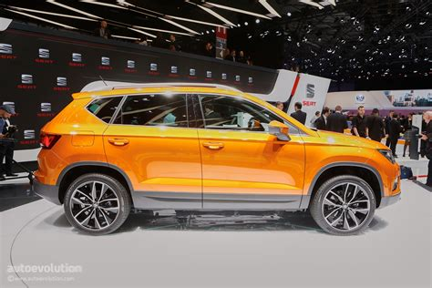 seat ateca 2016 2016 seat ateca suv makes official debut at geneva