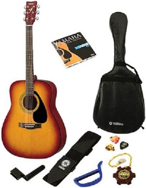 Yamaha Accoustic Folk Guitar F310 Tbs yamaha acoustic guitar package f310p tobacco brown