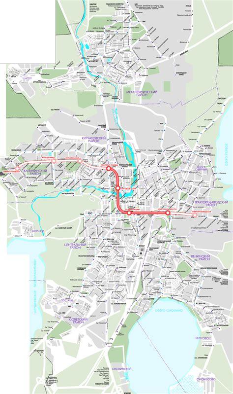 chelyabinsk map metro map of chelyabinsk metro maps of russia