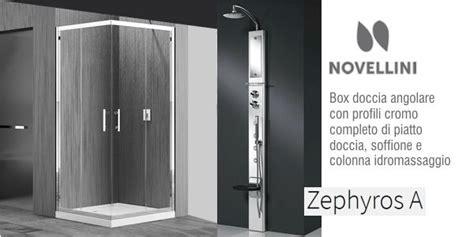 offerte box doccia roma box doccia novellini zephyros con colonna idromassaggio in