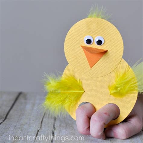 Puppets Chicky how to make adorable finger puppets i crafty