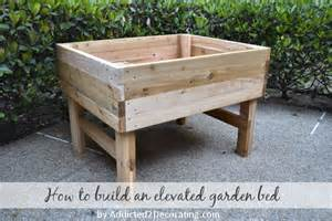 Diy Elevated Bed Elevated Garden Bed Plans Bed Plans Diy Blueprints