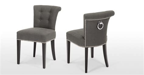 buy classic design grey upholstered dining chairs for your