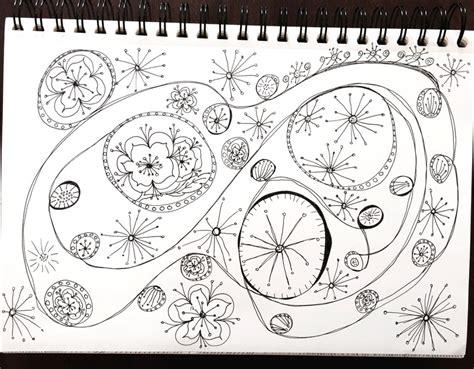 doodle zeichnen zeichnen lernen 5 einfache doodle prompts