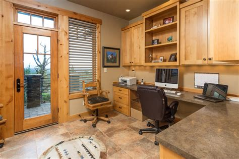 rustic home office brasada ranch home and office studio rustic home office other by western design