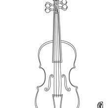 C Coloriages Coloriage Gratuit Coloriage Instruments De Musique Violon L