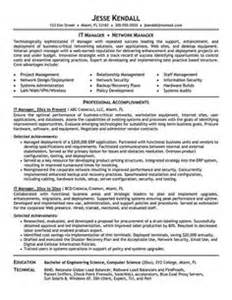click here to this project manager resume