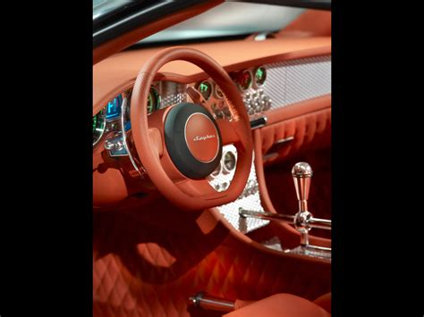 Spyker C8 Aileron Interior by 2009 Spyker C8 Aileron Interior 3 1280x960 Wallpaper