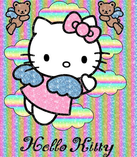 wallpaper hello kitty glitter hello kitty glitter gif picgifs com