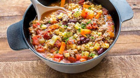 copycat olive garden pasta e fagioli recipe from tablespoon