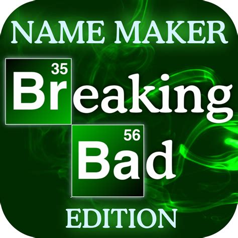 names for a make a badass breaking bad name for yourself with this simple fan made ios app