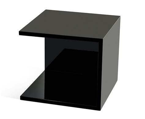 high nightstand 846et modern high gloss nightstand