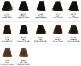 keune color chart keune hair color shades chart brown hairs