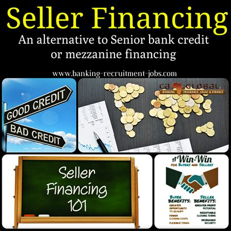 alternative bank seller financing an alternative to senior bank credit or