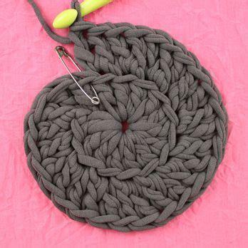 crochet pouf ottoman pattern free 17 best images about trending crochet on pinterest