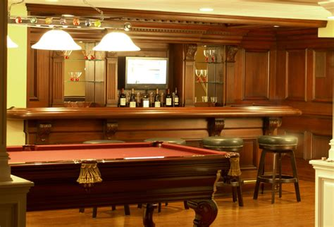 Residential Bars Residential Bar Nj Traditional Home Bar Newark By