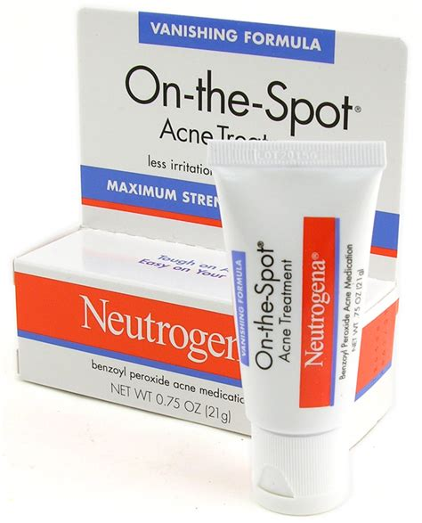Skincare For The Treatment Of Acne by Neutrogena Acne Treatment