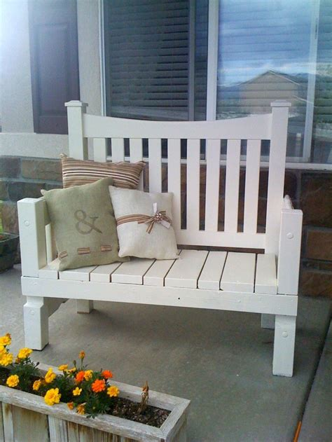 the front bench cute bench with pillows a beautiful bench pinterest