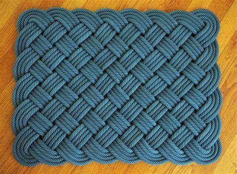 How To Make A Rope Rug Ii Somestuff Pinterest Rope Rope Rug