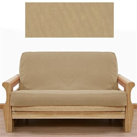 futon manufacturers solid tan futon cover buy from manufacturer and save