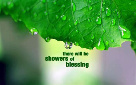 Shower Blessings by Pradervand Gentle Of Blessing