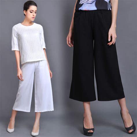 Kulot Palazo Celana Panjang Wanita Celana Wanita Celana Kulot jual celana kulot wanita import produk pakaian korea