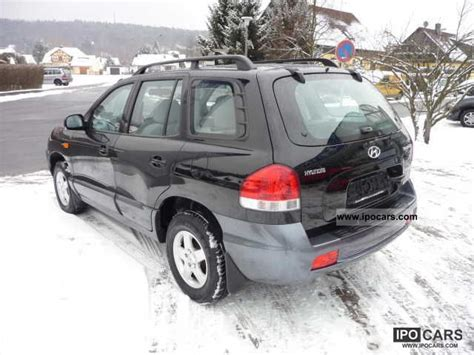 2005 hyundai santa fe gls 2 4 car photo and specs