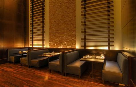 restaurant sofas contempoarary stylish restaurant interior design of