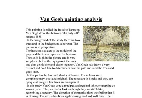vincent gogh research paper essay gogh vincent