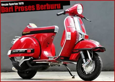 Vespa Italia Modifikasi by Pin Vespa Racing On