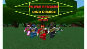 power rangers dino charge roblox